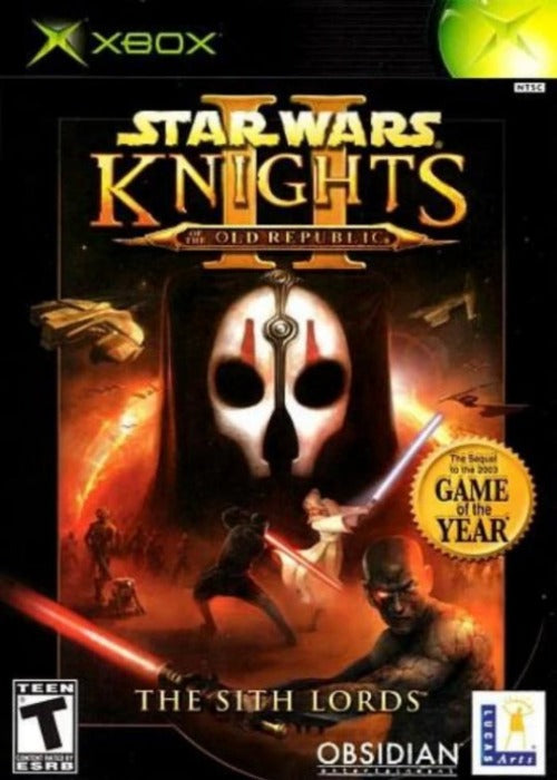 Star Wars Knights of the Old Republic II The Sith Lords Microsoft Xbox Game