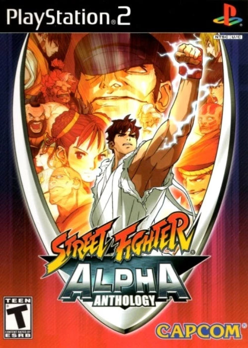 Street Fighter Alpha Anthology PlayStation 2 Game - Gandorion Games