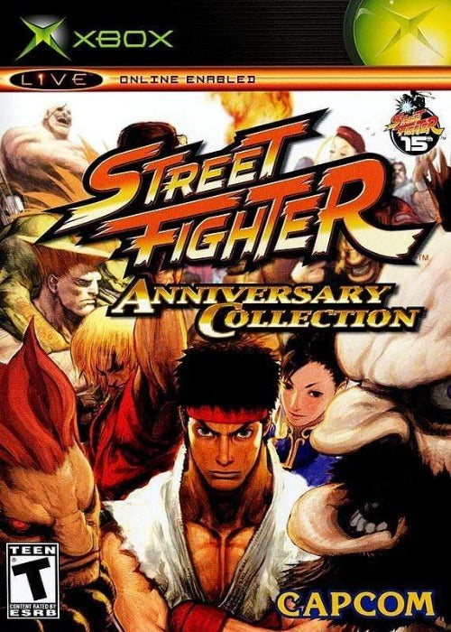Street Fighter Anniversary Collection Xbox - Gandorion Games