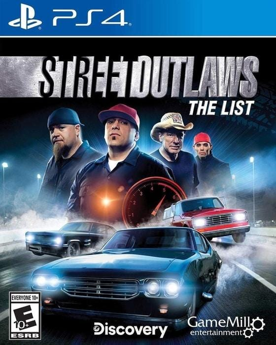 Street Outlaws The List Sony PlayStation 4 - Gandorion Games