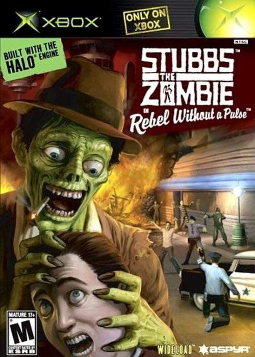 Stubbs the Zombie in Rebel Without a Pulse Microsoft Xbox - Gandorion Games