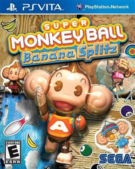 Super Monkey Ball Banana Splitz Sony PlayStation Vita - Gandorion Games