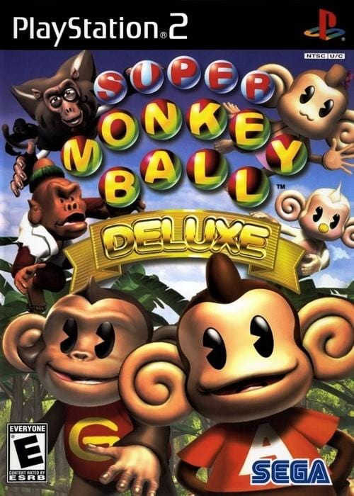 Super Monkey Ball Deluxe Sony PlayStation 2 - Gandorion Games