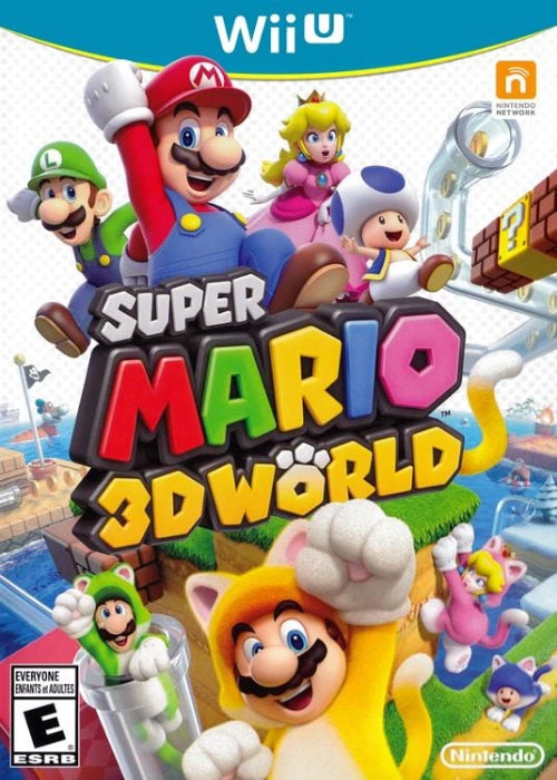 Super Mario 3D World Nintendo Wii U - Gandorion Games