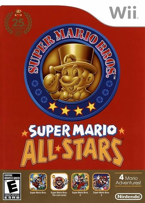 Super Mario All-Stars Limited Edition Nintendo Wii - Gandorion Games