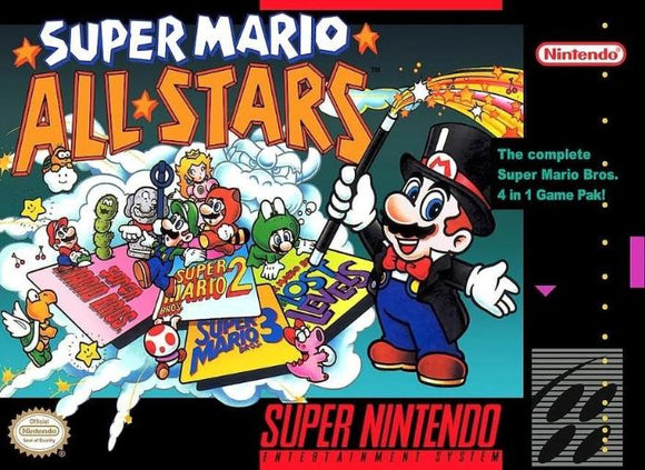 Super Mario All-Stars Super Nintendo SNES Game - Gandorion Games