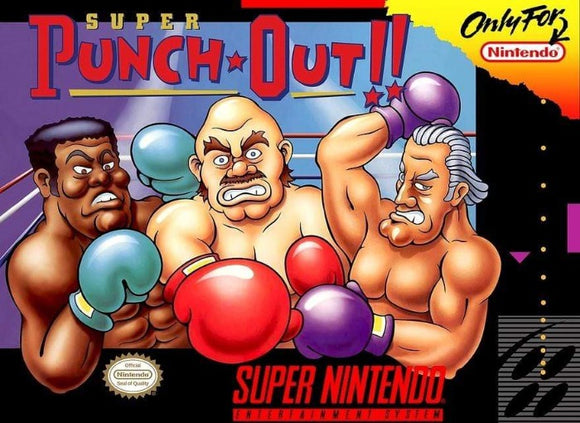 Super Punch-Out!! Super Nintendo SNES - Gandorion Games