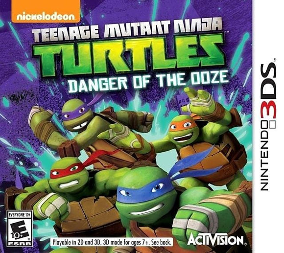 Teenage Mutant Ninja Turtles Danger of the Ooze Nintendo 3DS Game - Gandorion Games