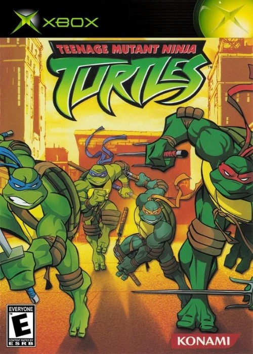 Teenage Mutant Ninja Turtles Microsoft Xbox - Gandorion Games