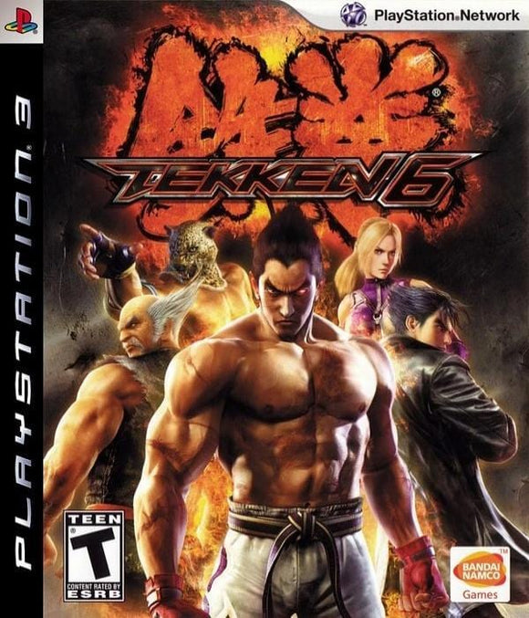 Tekken 6 PlayStation 3 - Gandorion Games