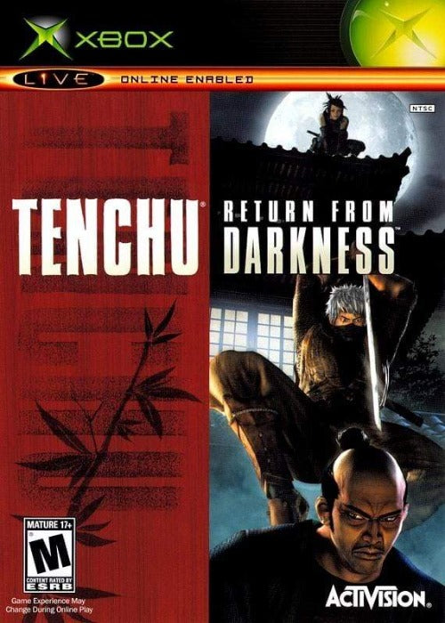 Tenchu Return from Darkness Microsoft Xbox - Gandorion Games