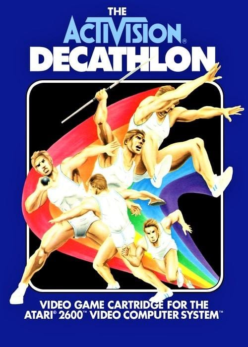 The Activision Decathlon Atari 2600 - Gandorion Games
