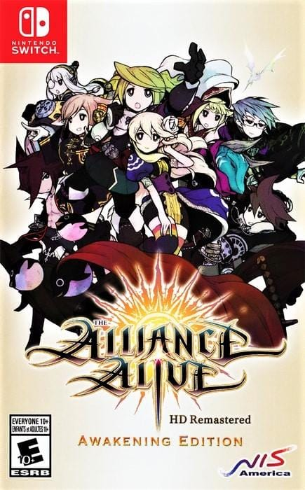 The Alliance Alive HD Remastered Nintendo Switch - Gandorion Games