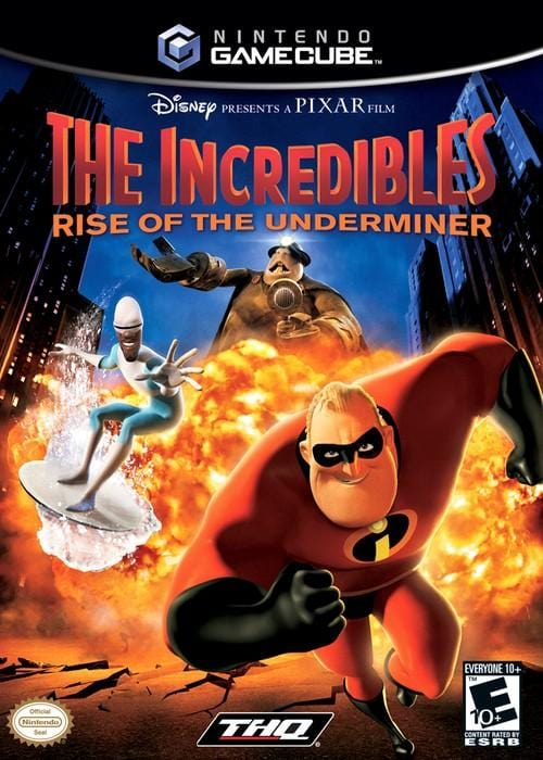 The Incredibles Rise of the Underminer Nintendo GameCube Game - Gandorion Games