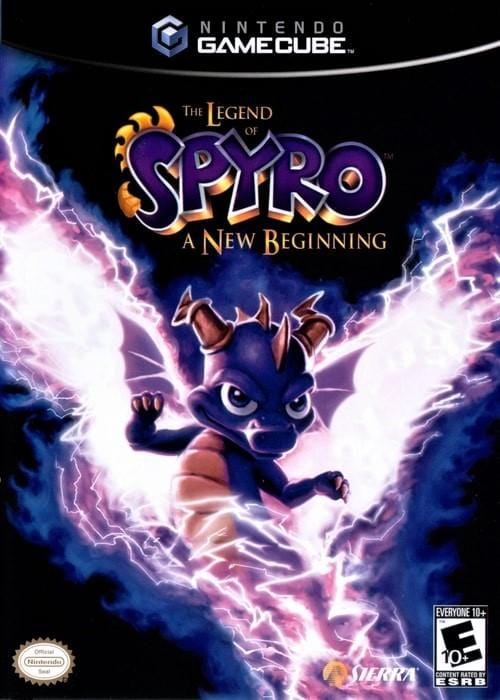 The Legend of Spyro A New Beginning Nintendo GameCube - Gandorion Games