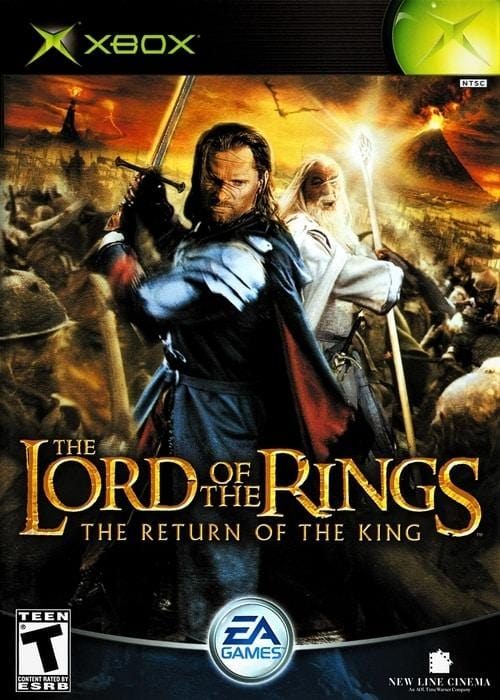 The Lord of the Rings The Return of the King Microsoft Xbox - Gandorion Games