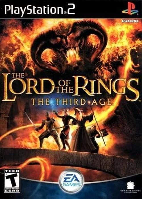 The Lord of the Rings The Third Age Sony PlayStation 2 - Gandorion Games