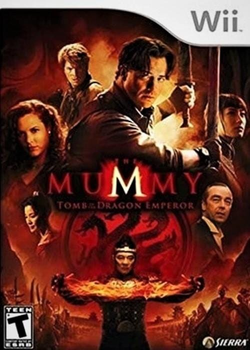 The Mummy: Tomb of the Dragon Emperor Nintendo Wii - Gandorion Games