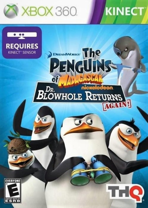 The Penguins of Madagascar Dr. Blowhole Returns - Again! Xbox 360 - Gandorion Games