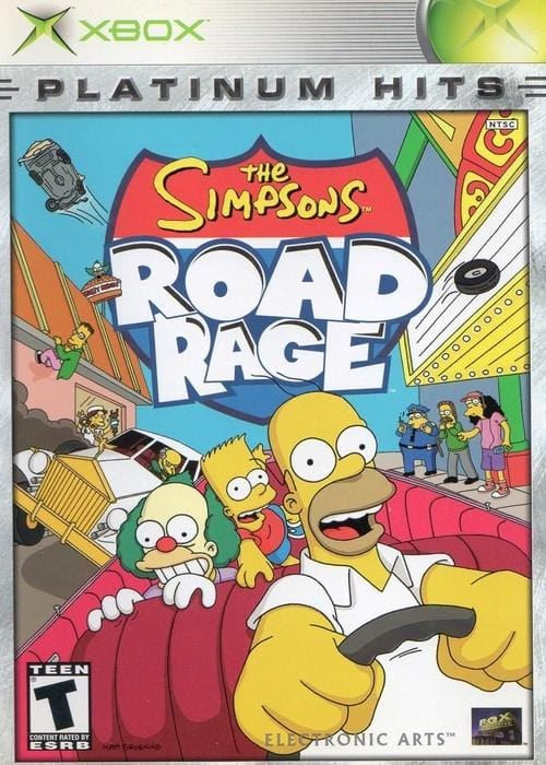 The Simpsons Road Rage (Platinum Hits) Microsoft Xbox - Gandorion Games