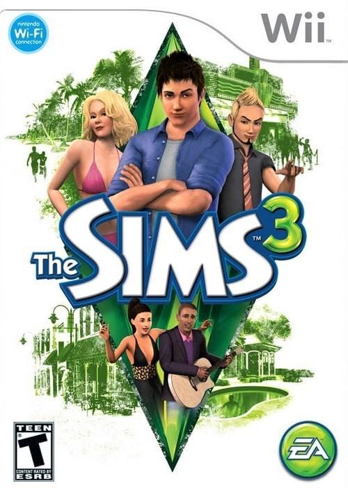 The Sims 3 Nintendo Wii Game - Gandorion Games
