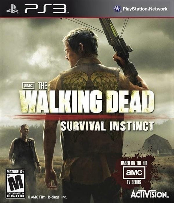 The Walking Dead Survival Instinct Sony PlayStation 3 - Gandorion Games