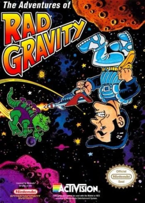 The Adventures of Rad Gravity Nintendo NES - Gandorion Games