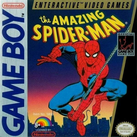 The Amazing Spider-Man Nintendo Game Boy - Gandorion Games