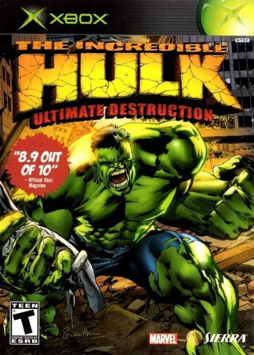 The Incredible Hulk: Ultimate Destruction Microsoft Xbox - Gandorion Games