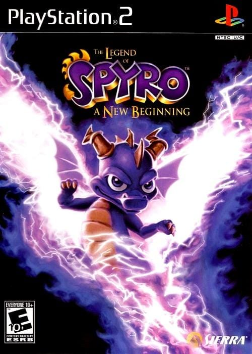 The Legend of Spyro A New Beginning Sony PlayStation 2 Game - Gandorion Games