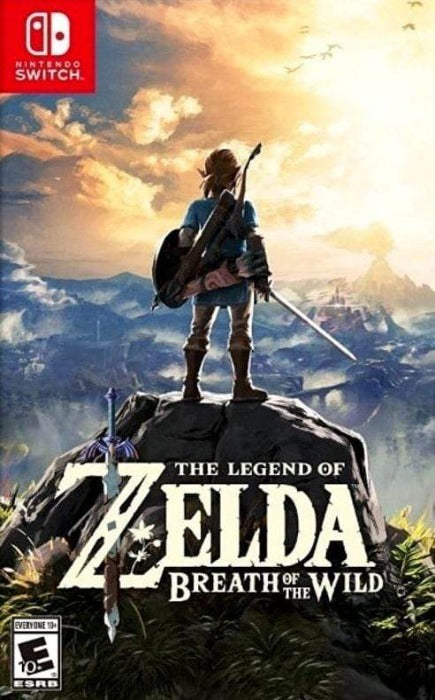 The Legend of Zelda Breath of the Wild Nintendo Switch Game - Gandorion Games