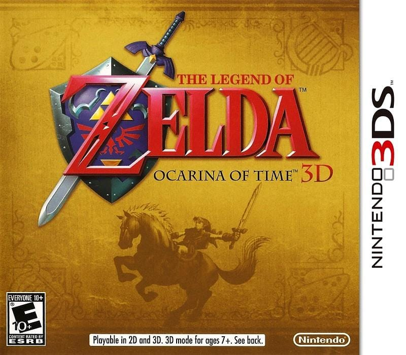 The Legend of Zelda Ocarina of Time 3D Nintendo 3DS - Gandorion Games