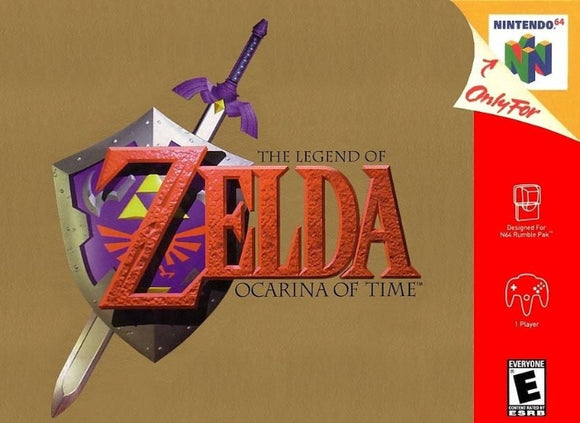 The Legend of Zelda Ocarina of Time Nintendo 64 Game - Gandorion Games