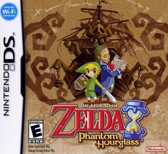 The Legend of Zelda Phantom Hourglass DS Nintendo DS Game - Gandorion Games