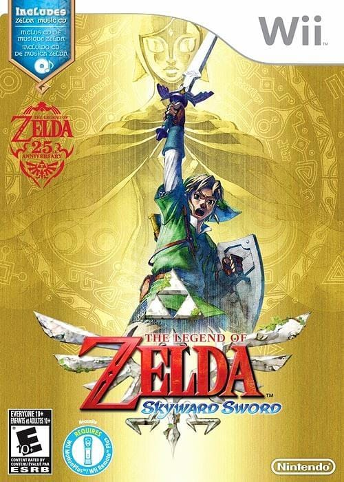 The Legend of Zelda Skyward Sword Nintendo Wii  - Gandorion Games