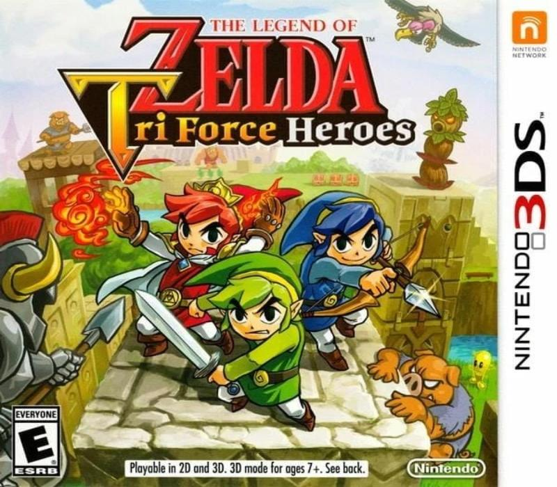 The Legend of Zelda Tri Force Heroes Nintendo 3DS - Gandorion Games