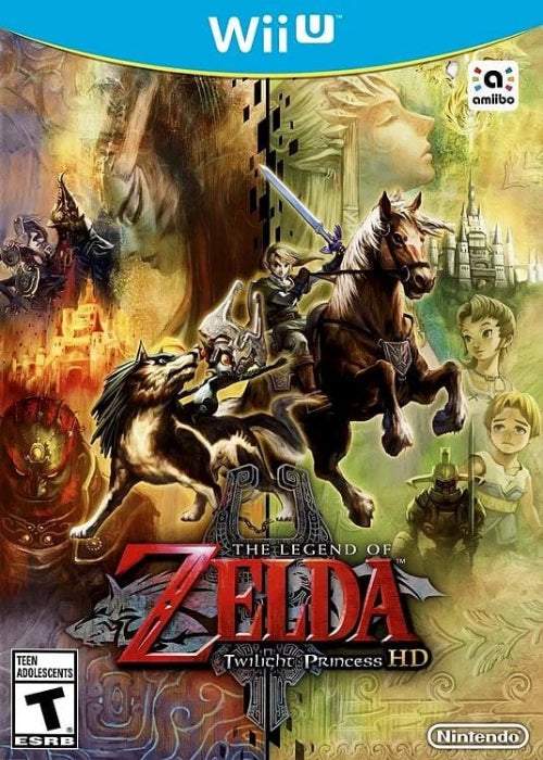 The Legend of Zelda Twilight Princess HD Nintendo Wii U - Gandorion Games