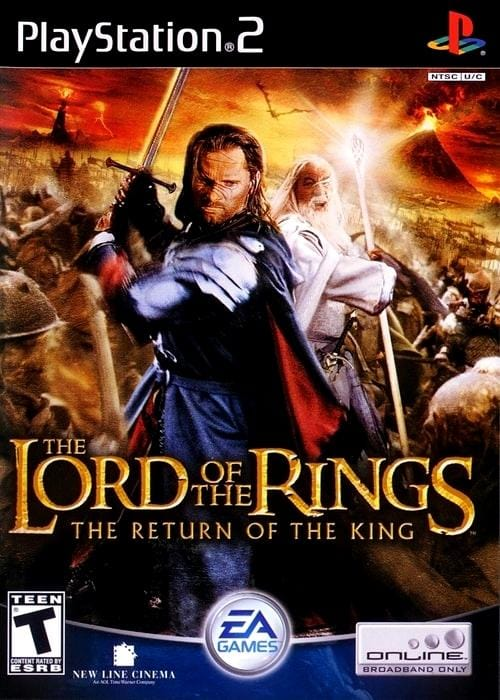 The Lord of the Rings: The Return of the King Sony PlayStation 2 Game PS2 - Gandorion Games