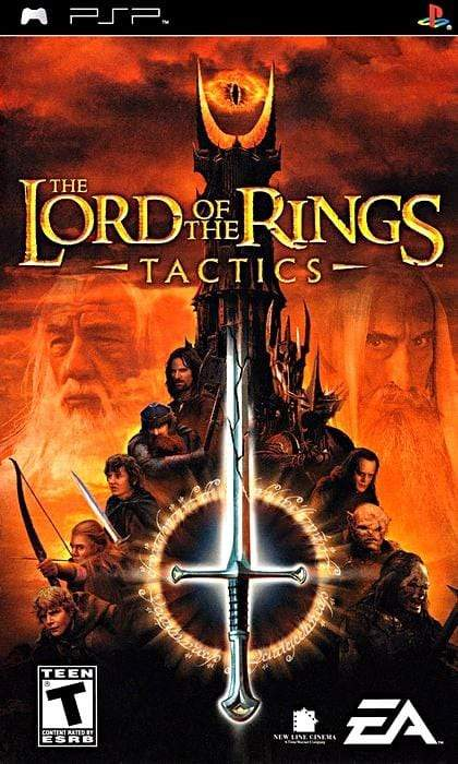 The Lord of the Rings Tactics Sony PSP - Gandorion Games