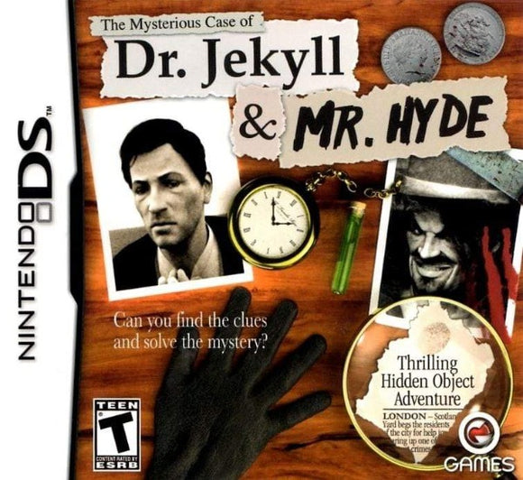 The Mysterious Case of Dr. Jekyll & Mr. Hyde Nintendo DS Game - Gandorion Games