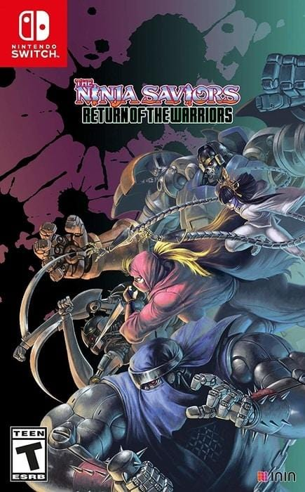 The Ninja Saviors Return of The Warriors Nintendo Switch - Gandorion Games