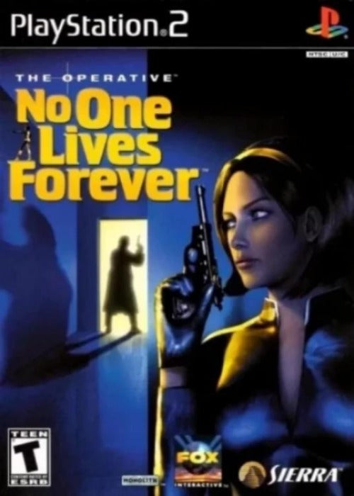 The Operative No One Lives Forever Sony PlayStation 2 - Gandorion Games