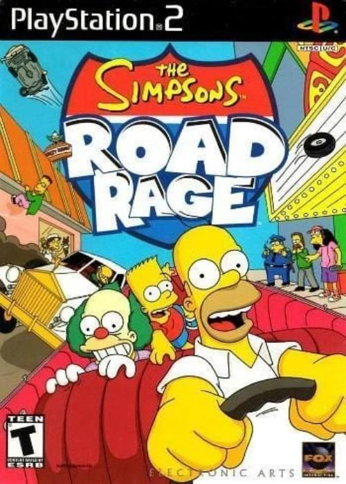 The Simpsons Road Rage - PlayStation 2 - Gandorion Games