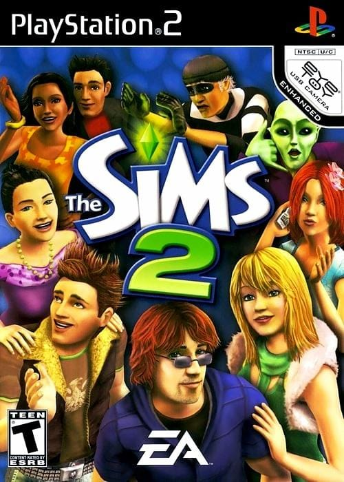 The Sims 2 Sony PlayStation 2 - Gandorion Games