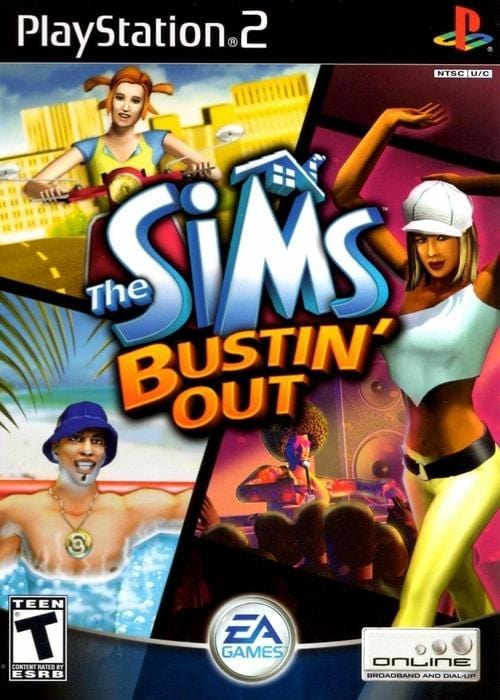The Sims Bustin Out Sony PlayStation 2 Game - Gandorion Games