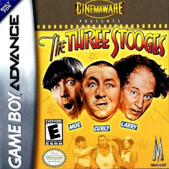 The Three Stooges Nintendo Game Boy Advance - Gandorion Games