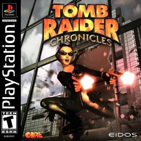 Tomb Raider Chronicles PlayStation 1 - Gandorion Games
