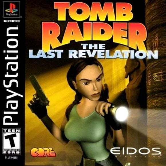 Tomb Raider Last Revelation PlayStation 1 - Gandorion Games