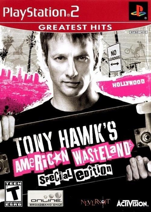 Tony Hawk's American Wasteland PlayStation 2 - Gandorion Games