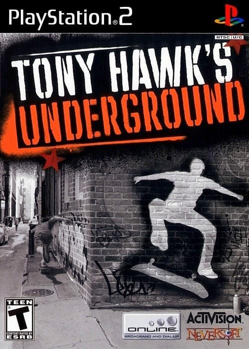 Tony Hawk's Underground Sony PlayStation 2 Gandorion Games